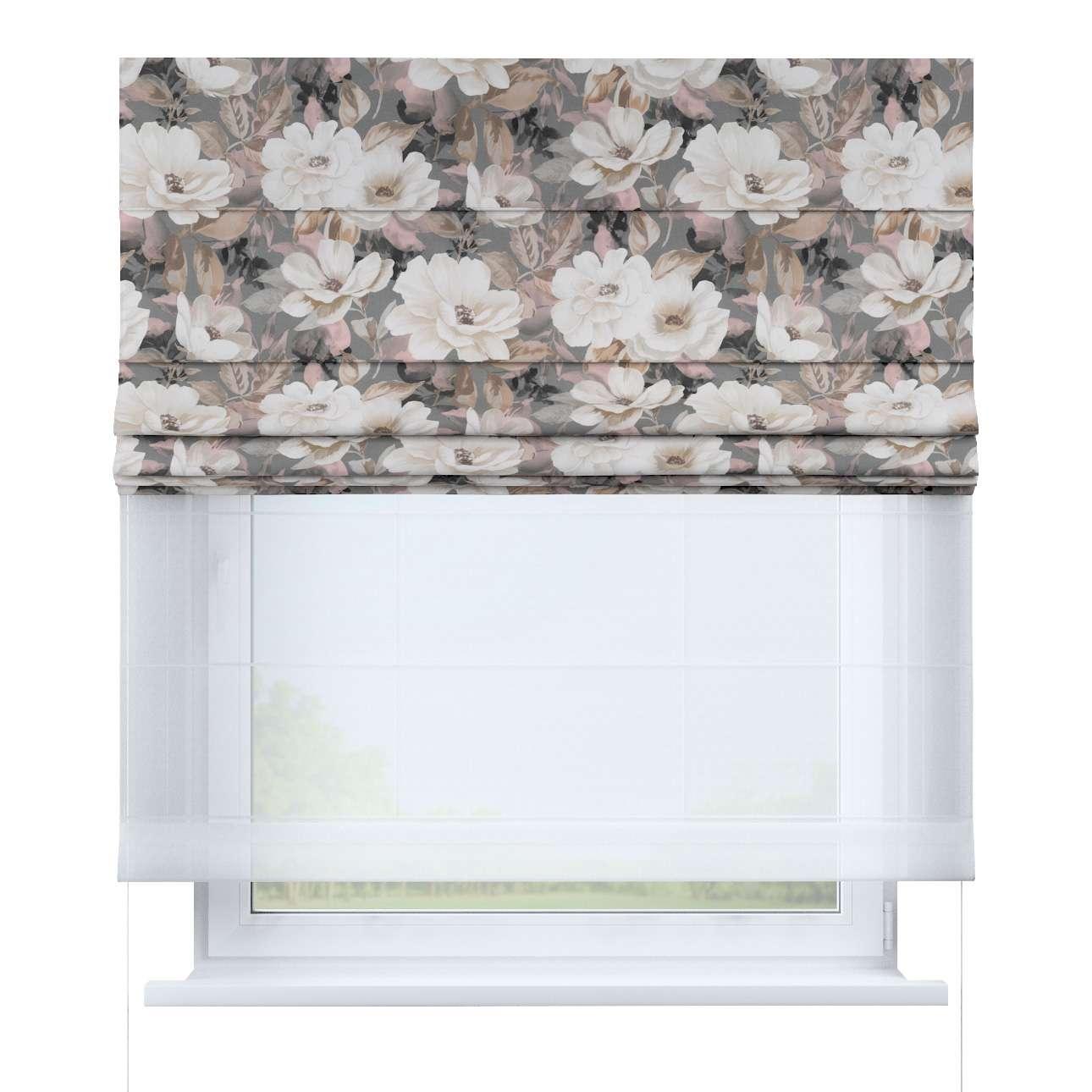 Duo med ensfarvet voile fra kolleksjonen Gardenia, Stoffets bredde: 142-13