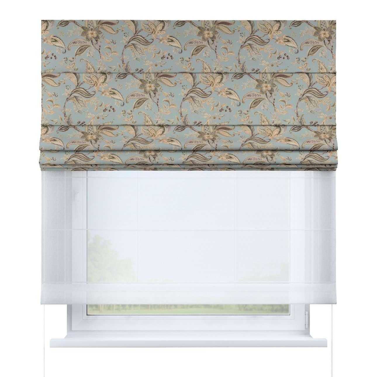 Vouwgordijn Duo van de collectie Gardenia, Stof: 142-18