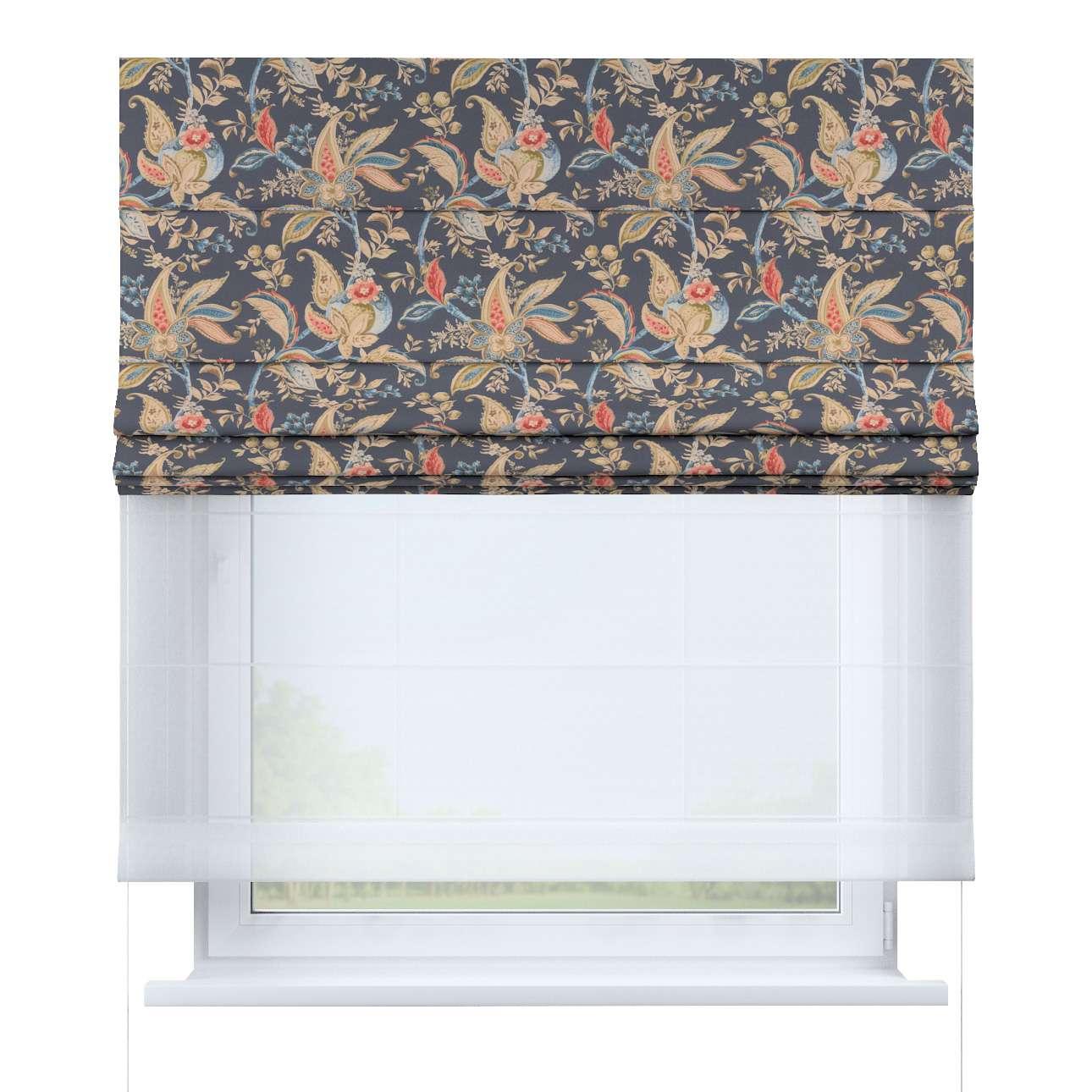 Duo med ensfarvet voile fra kolleksjonen Gardenia, Stoffets bredde: 142-19