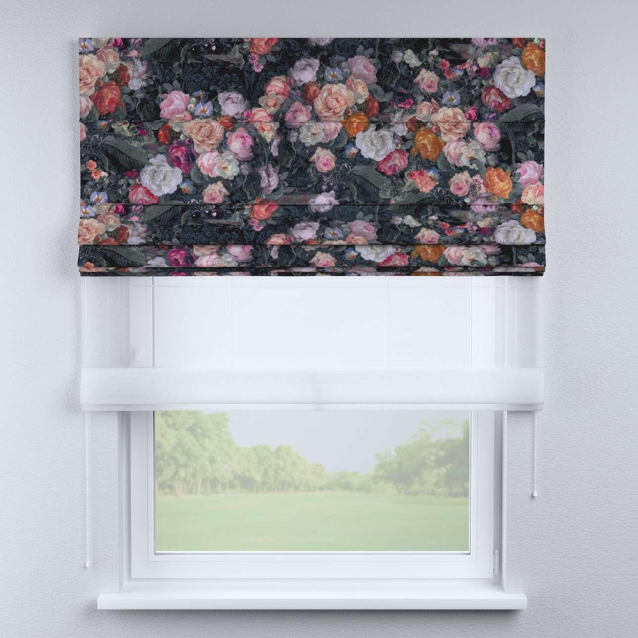 Duo med ensfarvet voile fra kolleksjonen Gardenia, Stoffets bredde: 161-02