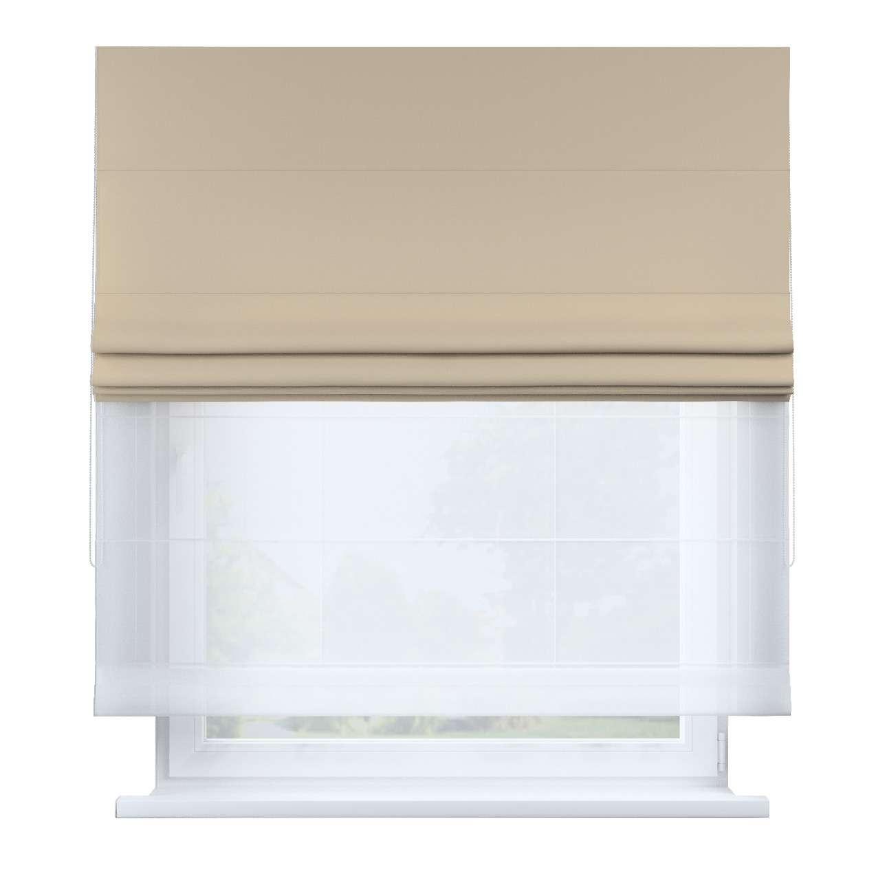Raffrollo Duo 130×170cm von der Kollektion Cotton Story, Stoff: 702-01