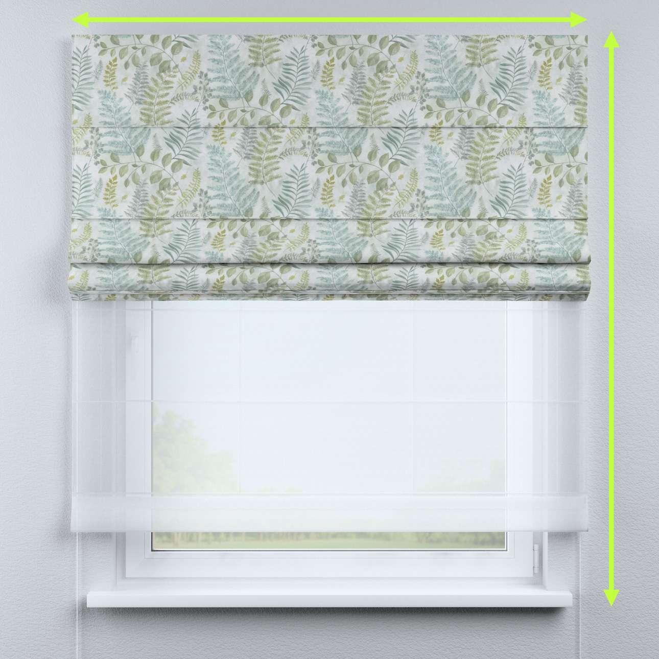 Rímska DUO roleta II V kolekcii Pastel Forest, tkanina: 142-46