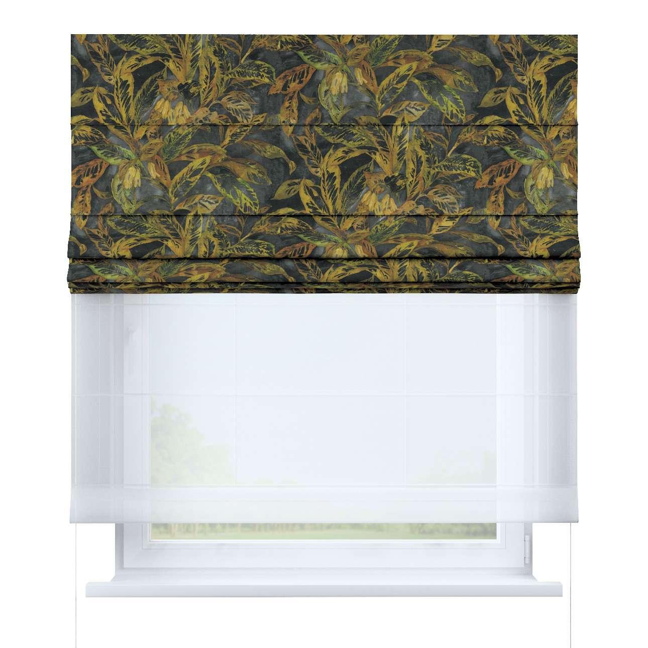 Roleta rzymska Duo w kolekcji Abigail, tkanina: 143-01