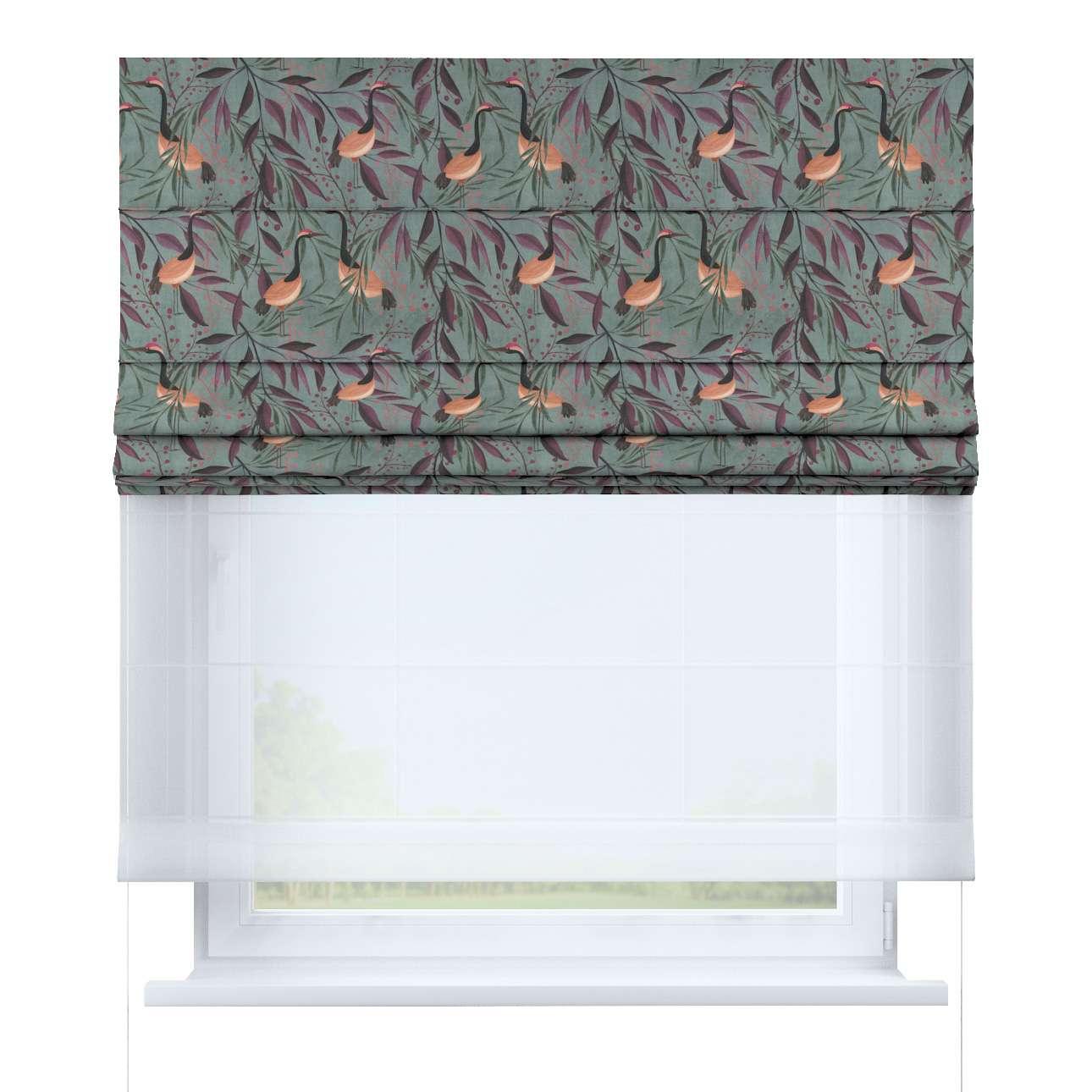 Roleta rzymska Duo w kolekcji Abigail, tkanina: 143-11