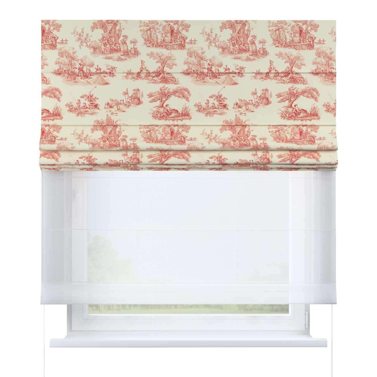 Roleta rzymska Duo w kolekcji Avinon, tkanina: 132-15