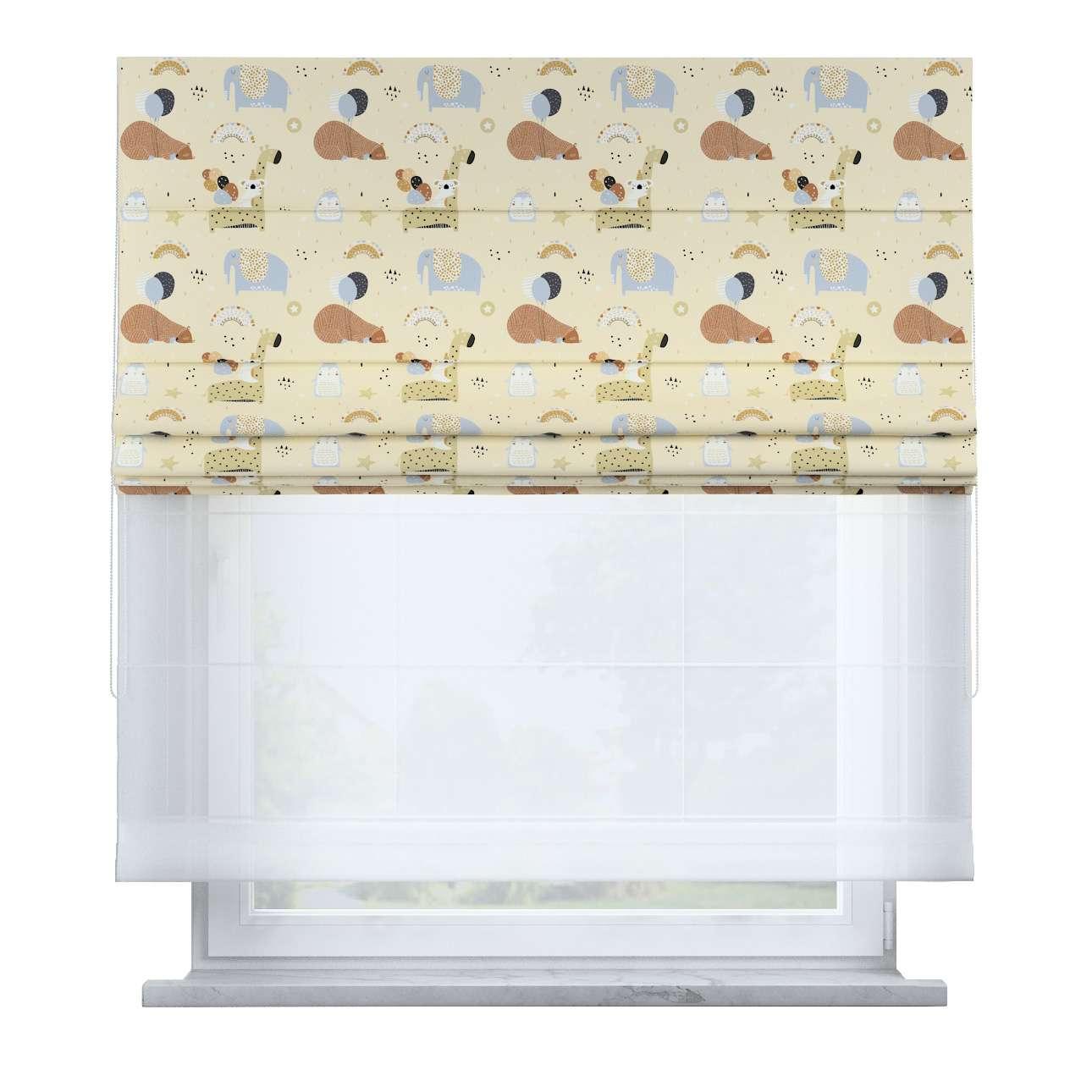 Dvojitá římská roleta v kolekci Magic Collection, látka: 500-46