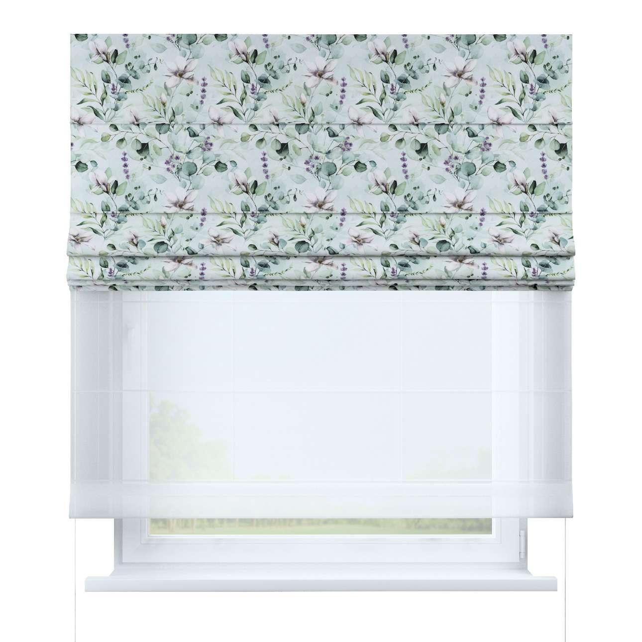 DUO Rímska roleta V kolekcii Flowers, tkanina: 143-66