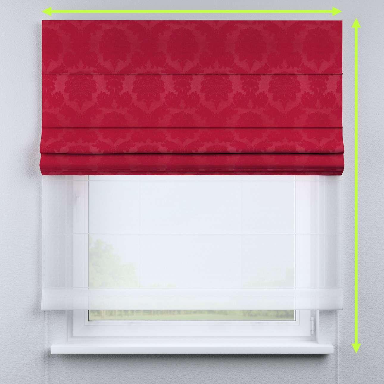 Roleta rzymska Duo 130×170cm w kolekcji Damasco, tkanina: 613-13