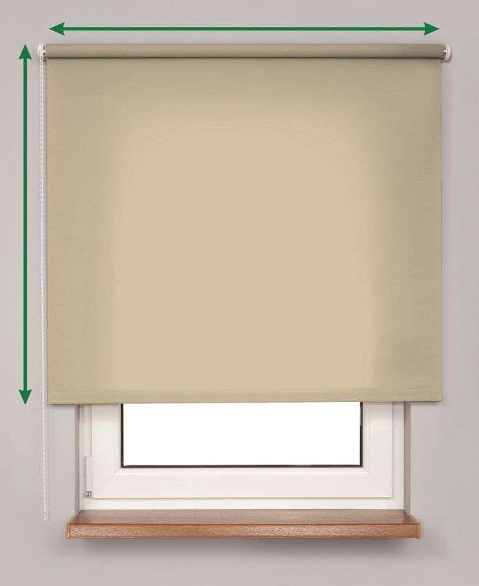 Roller blind  in collection Roller blind transparent, fabric: 4984