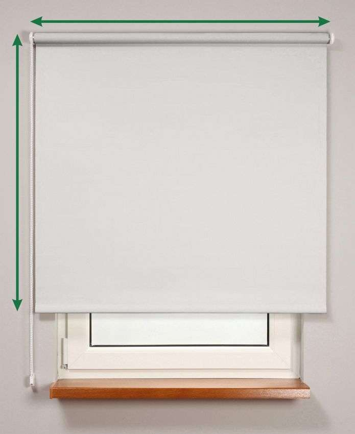 Blackout roller blind  in collection Roller blind blackout, fabric: 10262