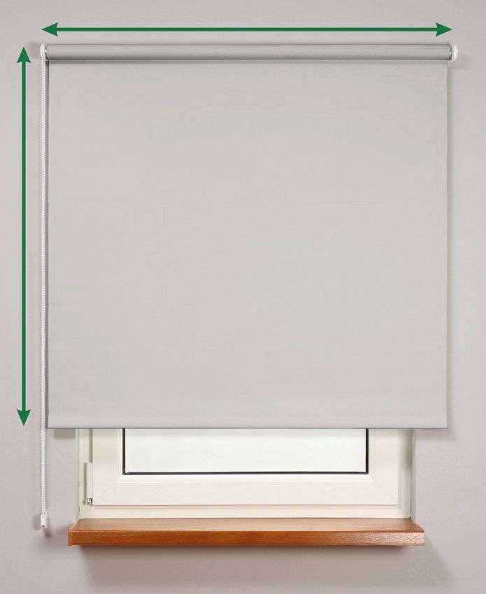 Blackout roller blind  in collection Roller blind blackout, fabric: 10365