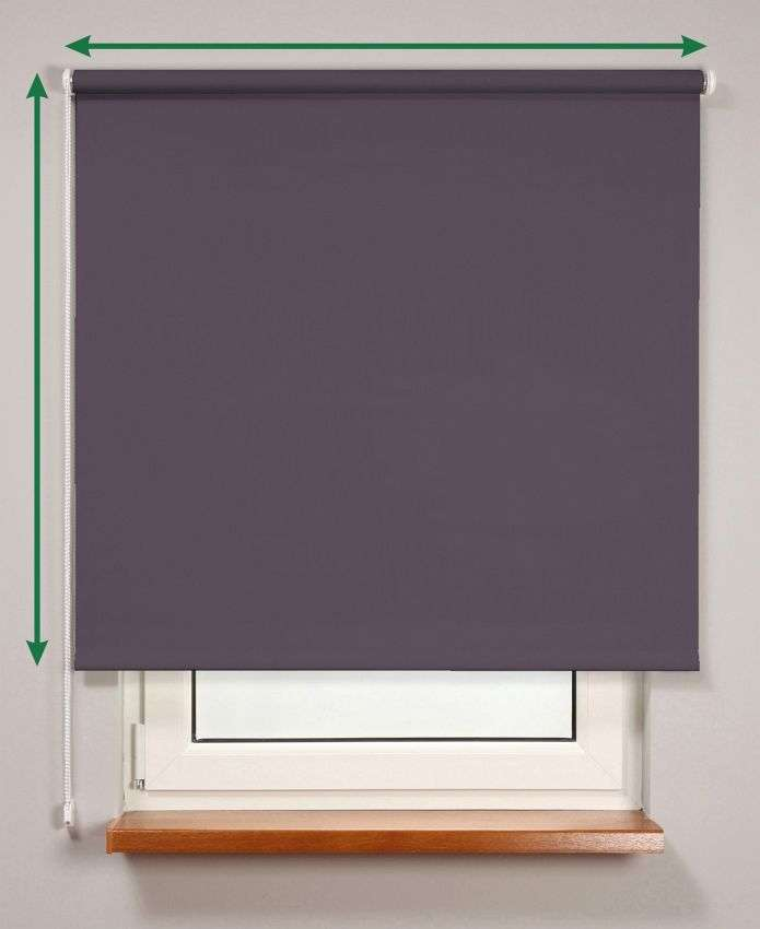 Blackout roller blind  in collection Roller blind blackout, fabric: 10366