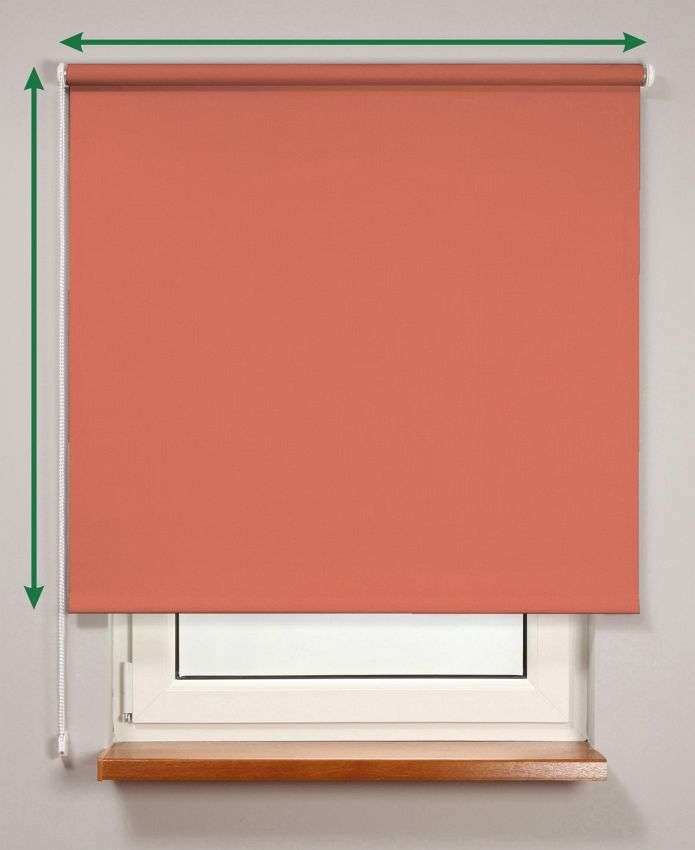 Blackout roller blind  in collection Roller blind blackout, fabric: 10367