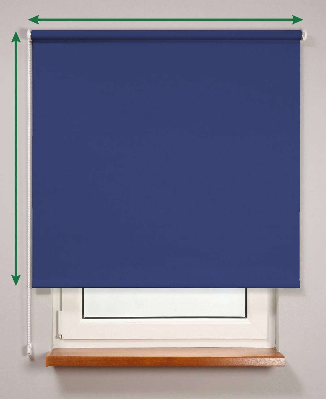 Blackout roller blind  in collection Roller blind blackout, fabric: 10369