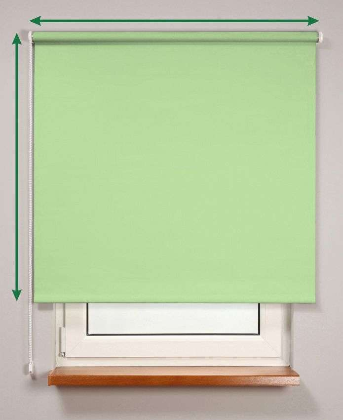 Blackout roller blind  in collection Roller blind blackout, fabric: 10370