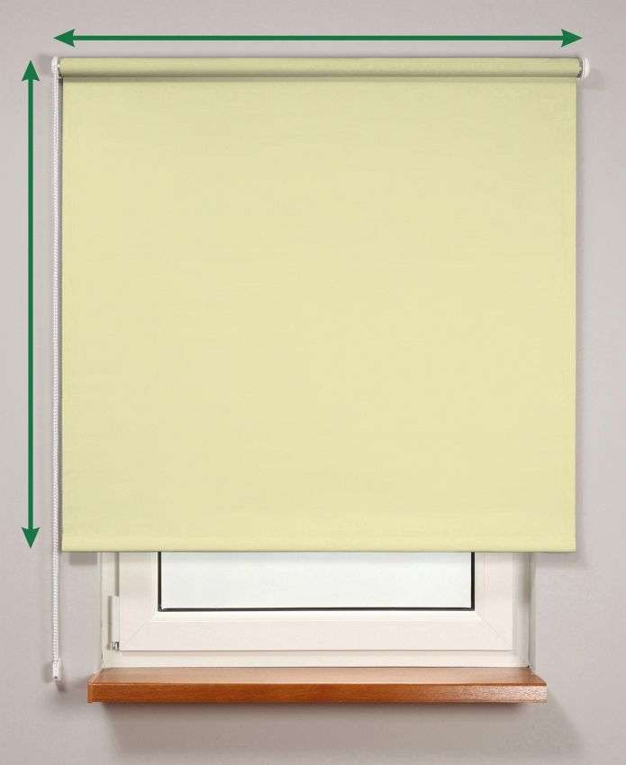 Blackout roller blind  in collection Roller blind blackout, fabric: 10371