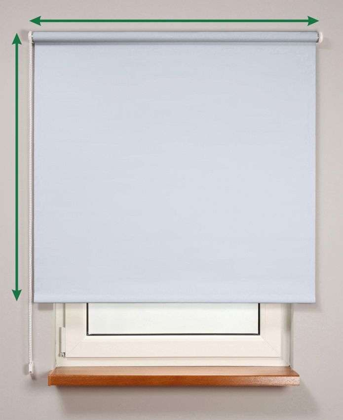 Blackout roller blind  in collection Roller blind blackout, fabric: 7943