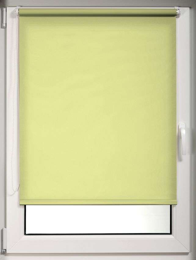 Mini roller blind (compact design for fitting inside window recess) in collection Roller blind transparent, fabric: 10529