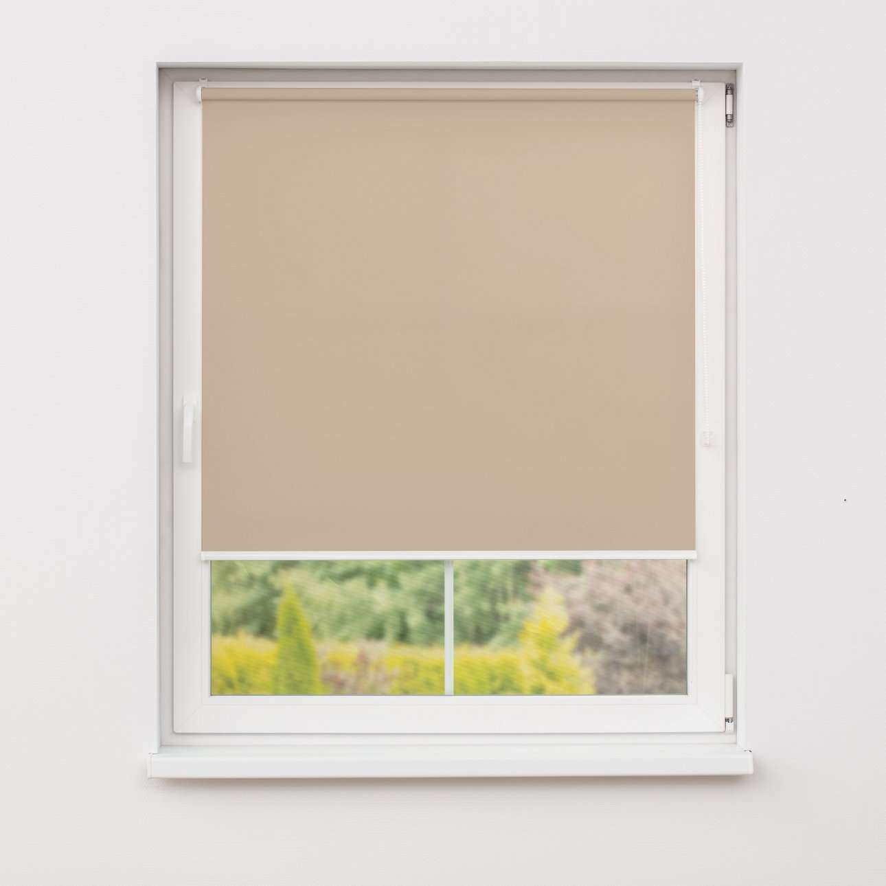 Window recess roller blind in collection Roller blind transparent, fabric: 4999