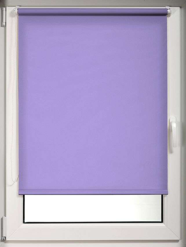 Mini roller blind (compact design for fitting inside window recess) in collection Roller blind transparent, fabric: 6744