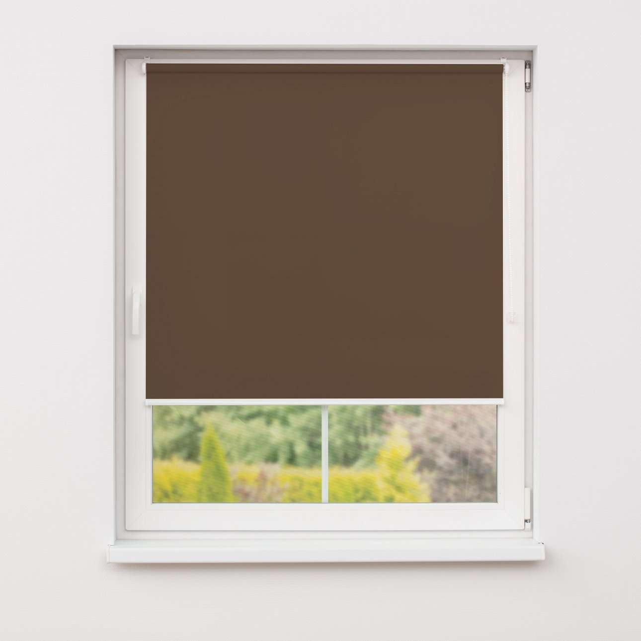 Mini blackout roller blind in collection Roller blind blackout, fabric: 066
