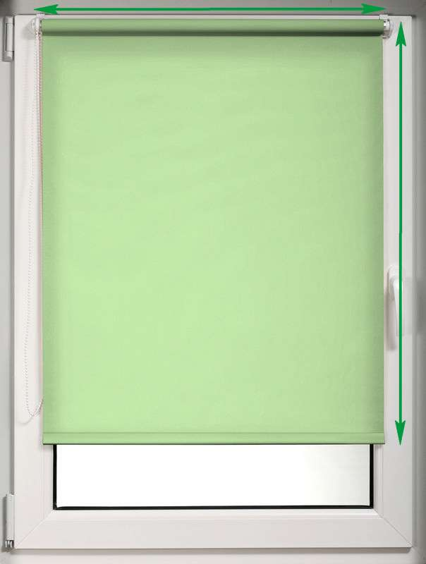 Window recess roller blind in collection Roller blind blackout, fabric: 10370