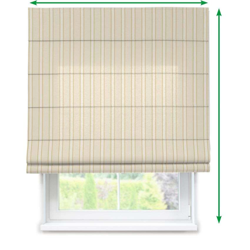 Lined roman blind in collection Arcana, fabric: 104-02