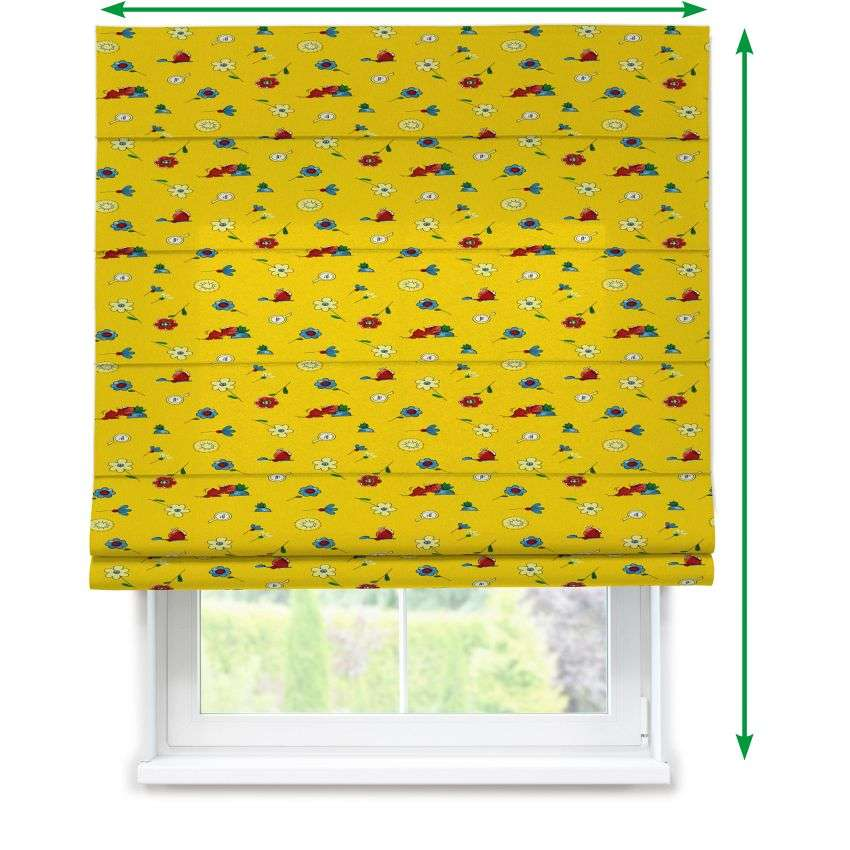 Lined roman blind in collection Kids/Baby, fabric: 114-92