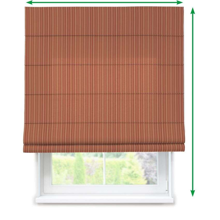 Lined roman blind in collection Victoria, fabric: 130-07