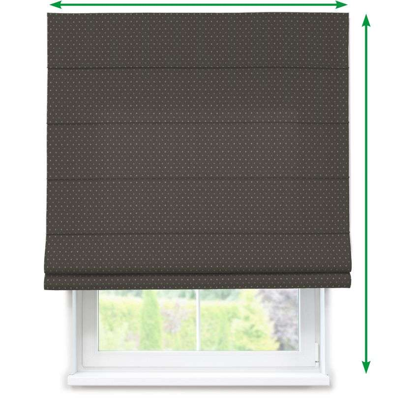Lined roman blind in collection Victoria, fabric: 130-11