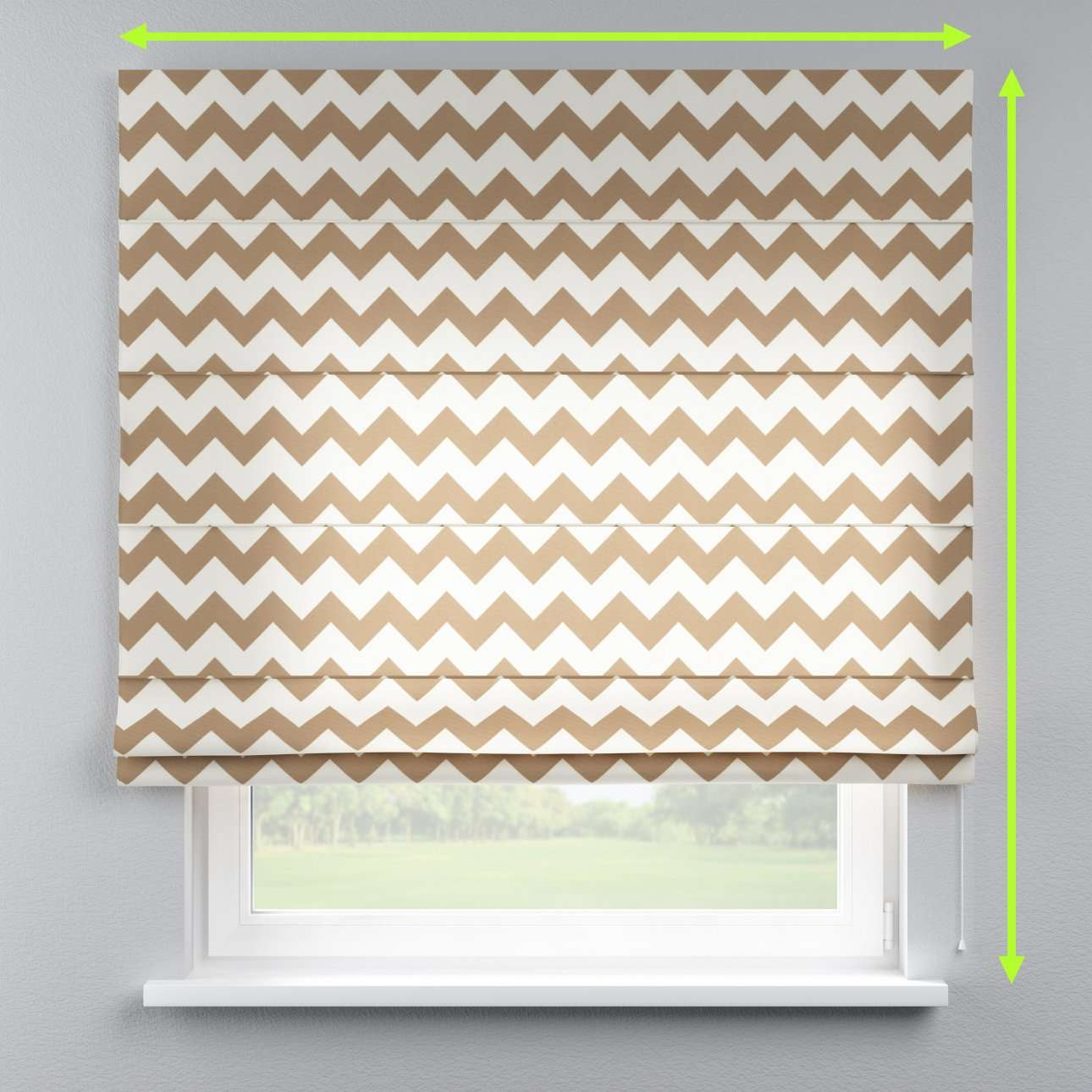 Lined roman blind in collection Comic Book & Geo Prints, fabric: 135-01