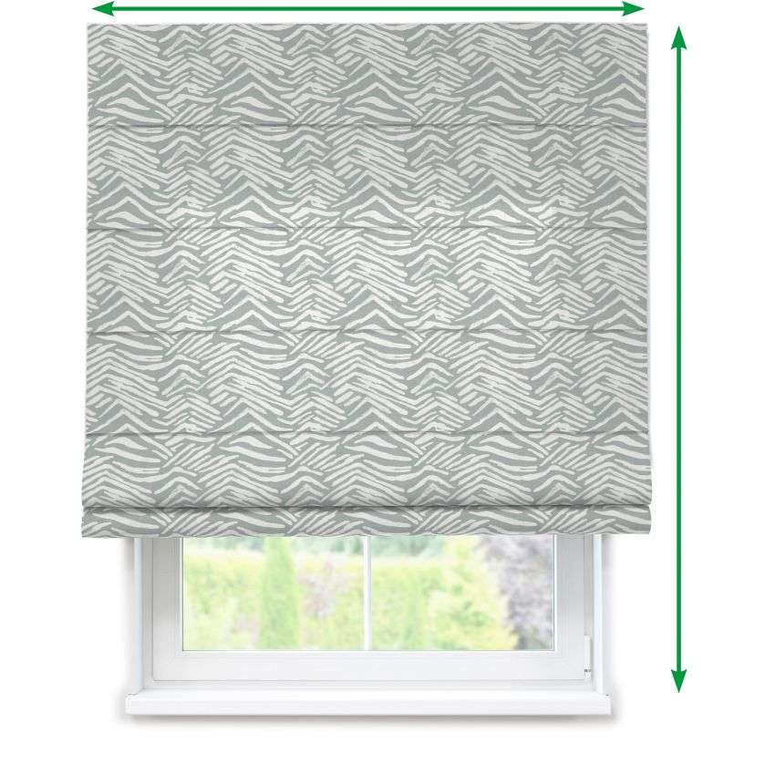 Lined roman blind in collection SALE, fabric: 135-04