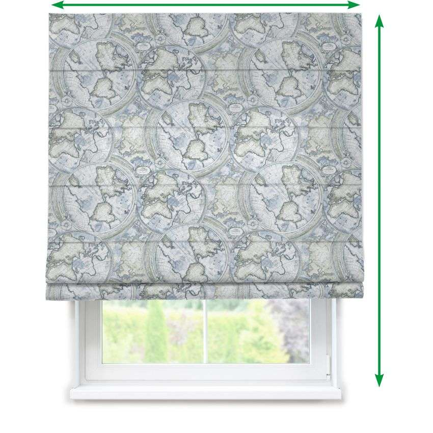 Lined roman blind in collection SALE, fabric: 135-11