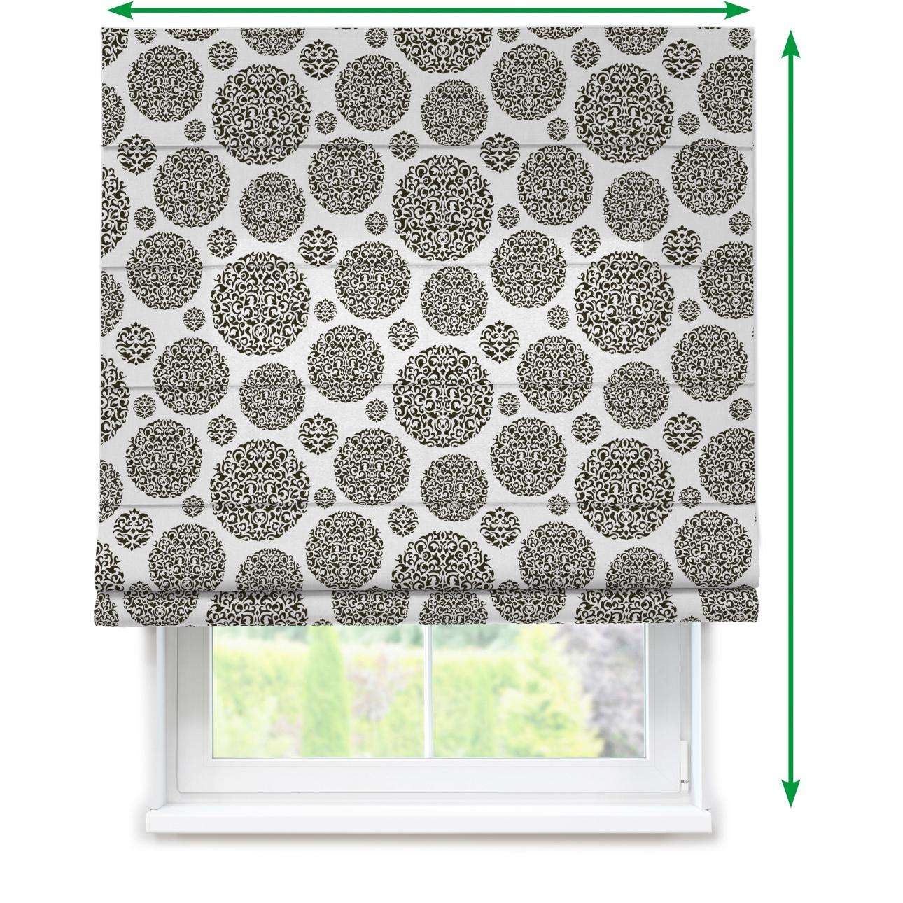 Lined roman blind in collection Comic Book & Geo Prints, fabric: 135-19
