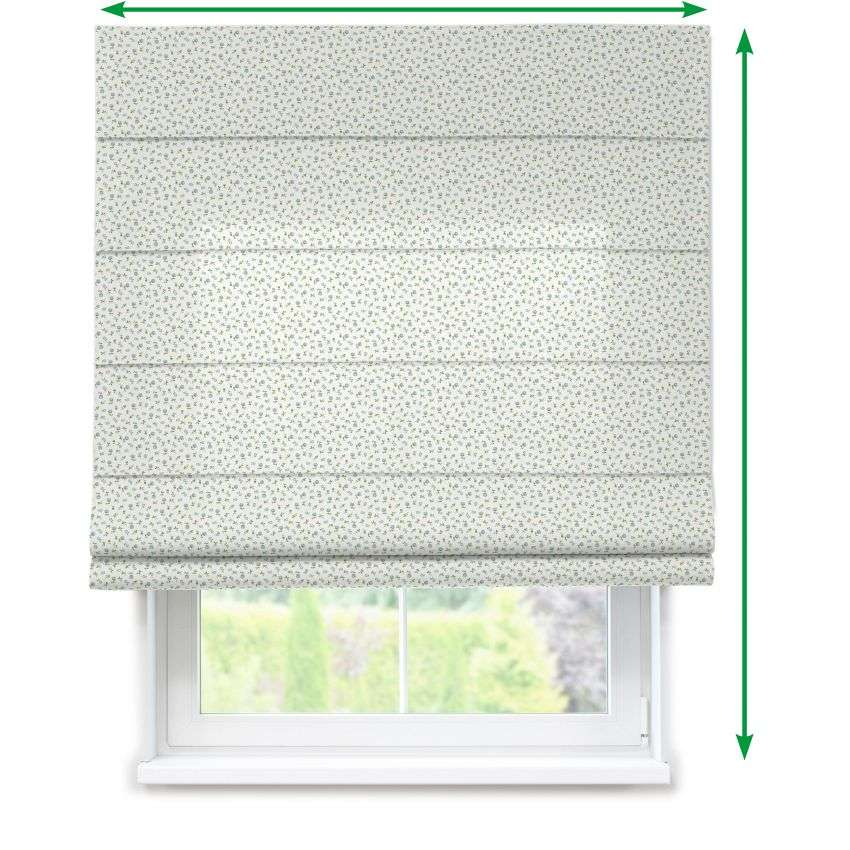 Lined roman blind in collection Amelie , fabric: 136-60