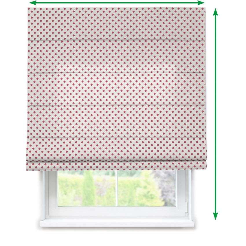 Lined roman blind in collection Ashley, fabric: 137-70