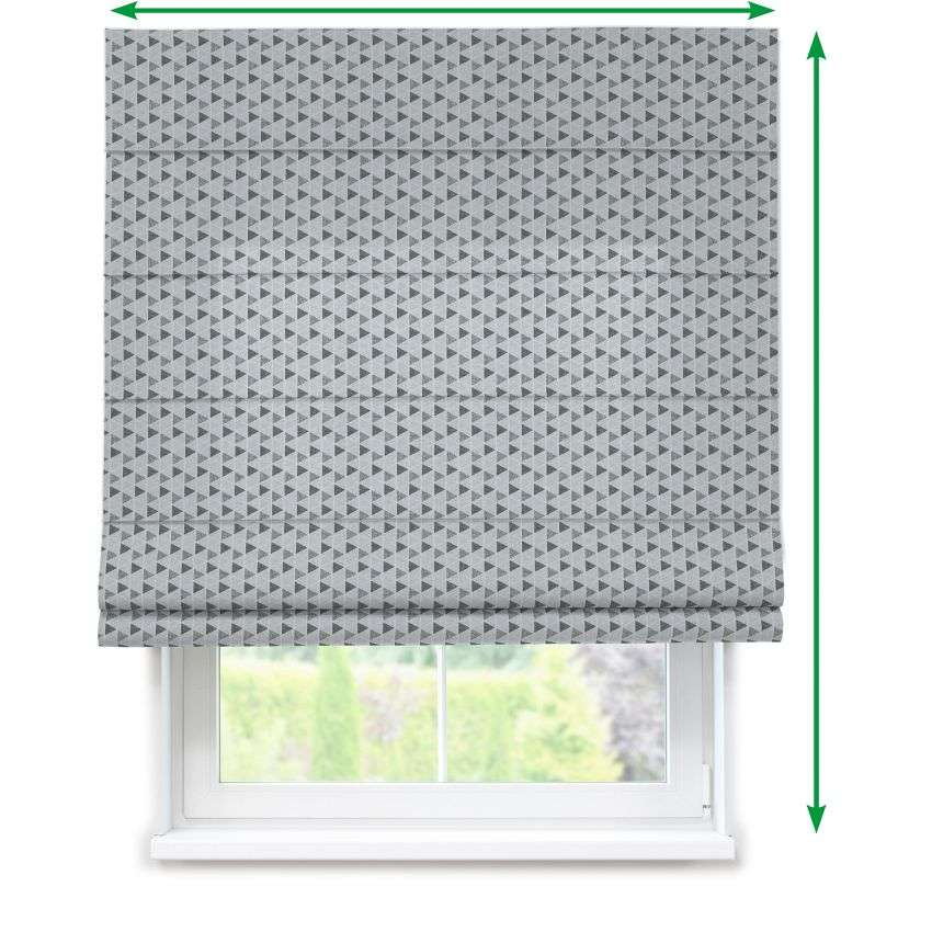 Lined roman blind in collection SALE, fabric: 138-17