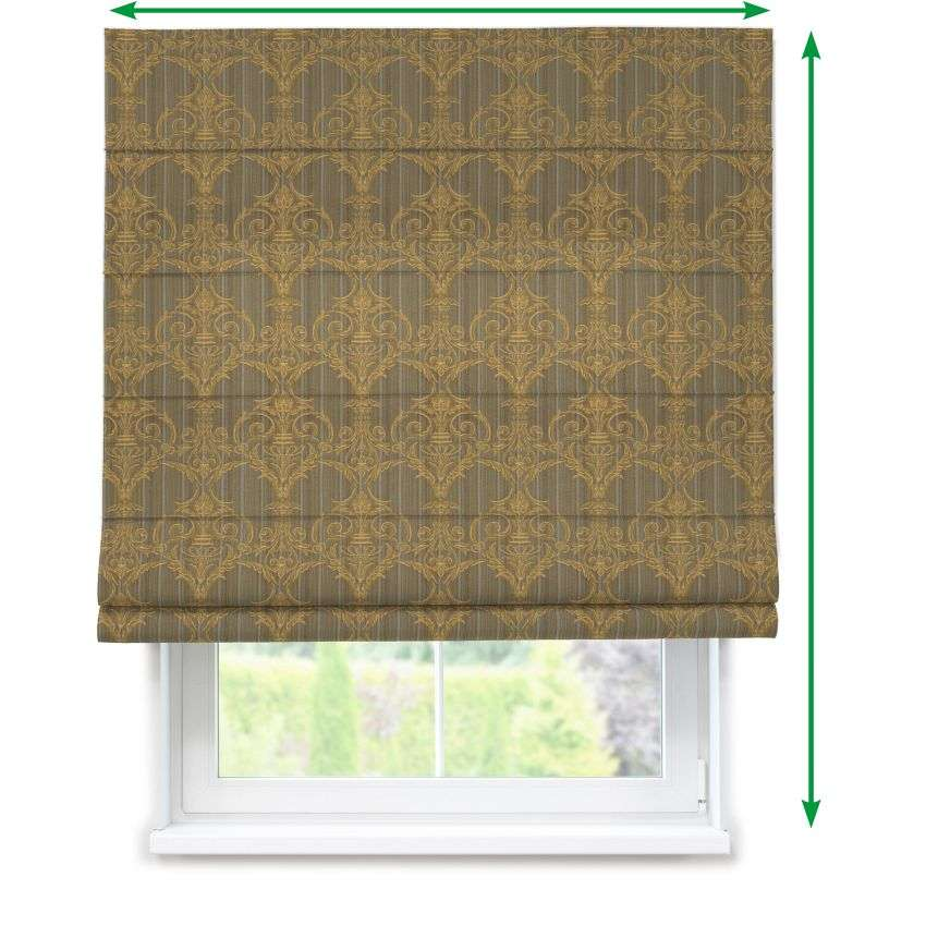 Lined roman blind in collection Odisea, fabric: 412-53