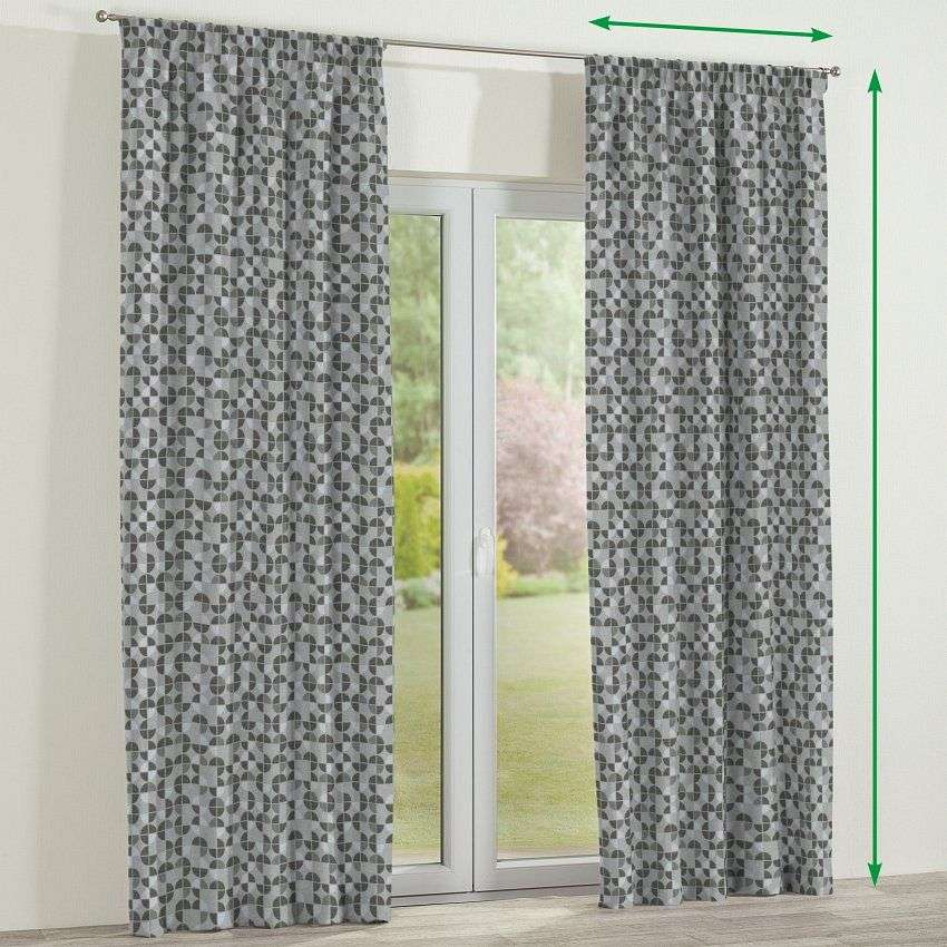 Pencil pleat lined curtains in collection SALE, fabric: 138-20