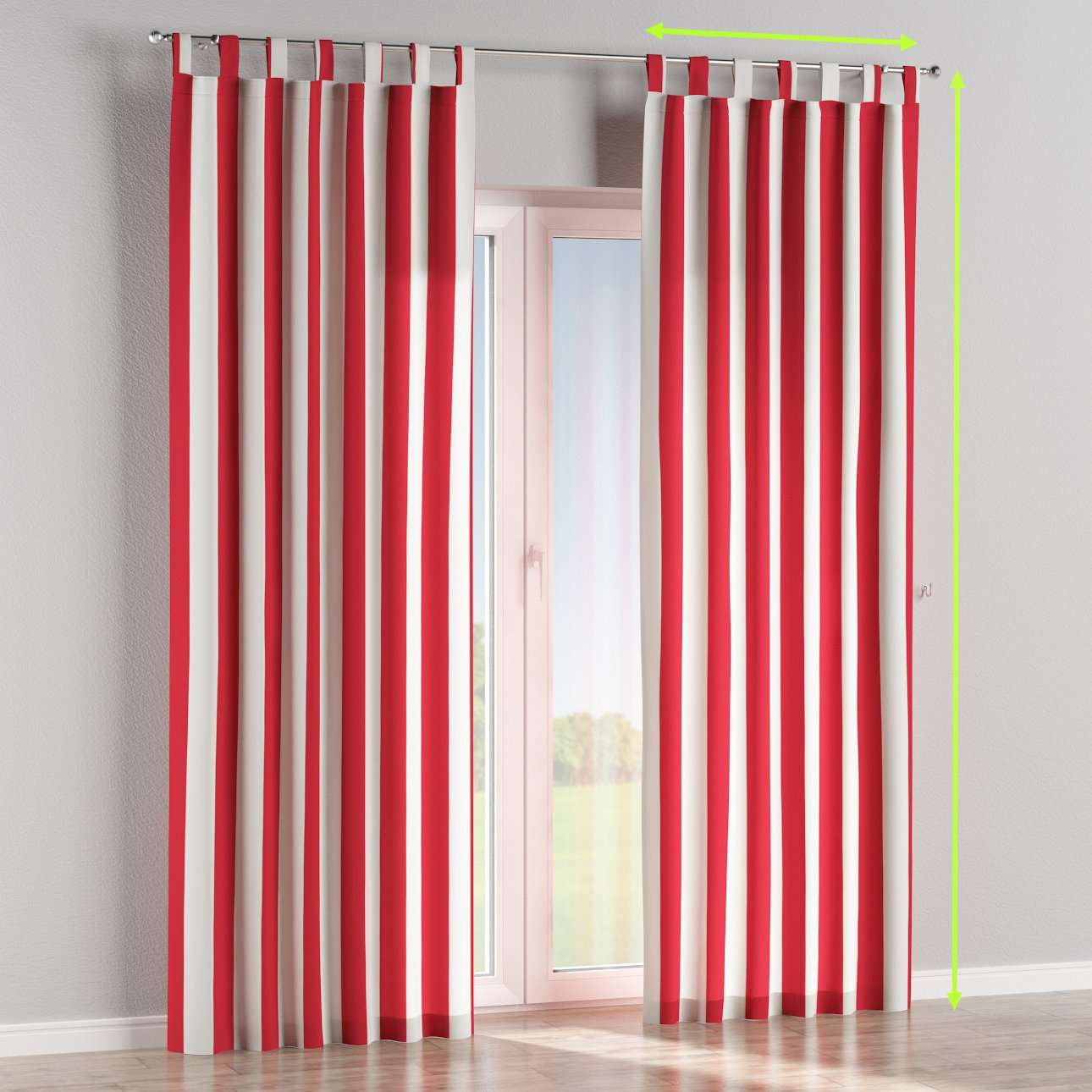 Tab top lined curtains in collection Comic Book & Geo Prints, fabric: 137-54