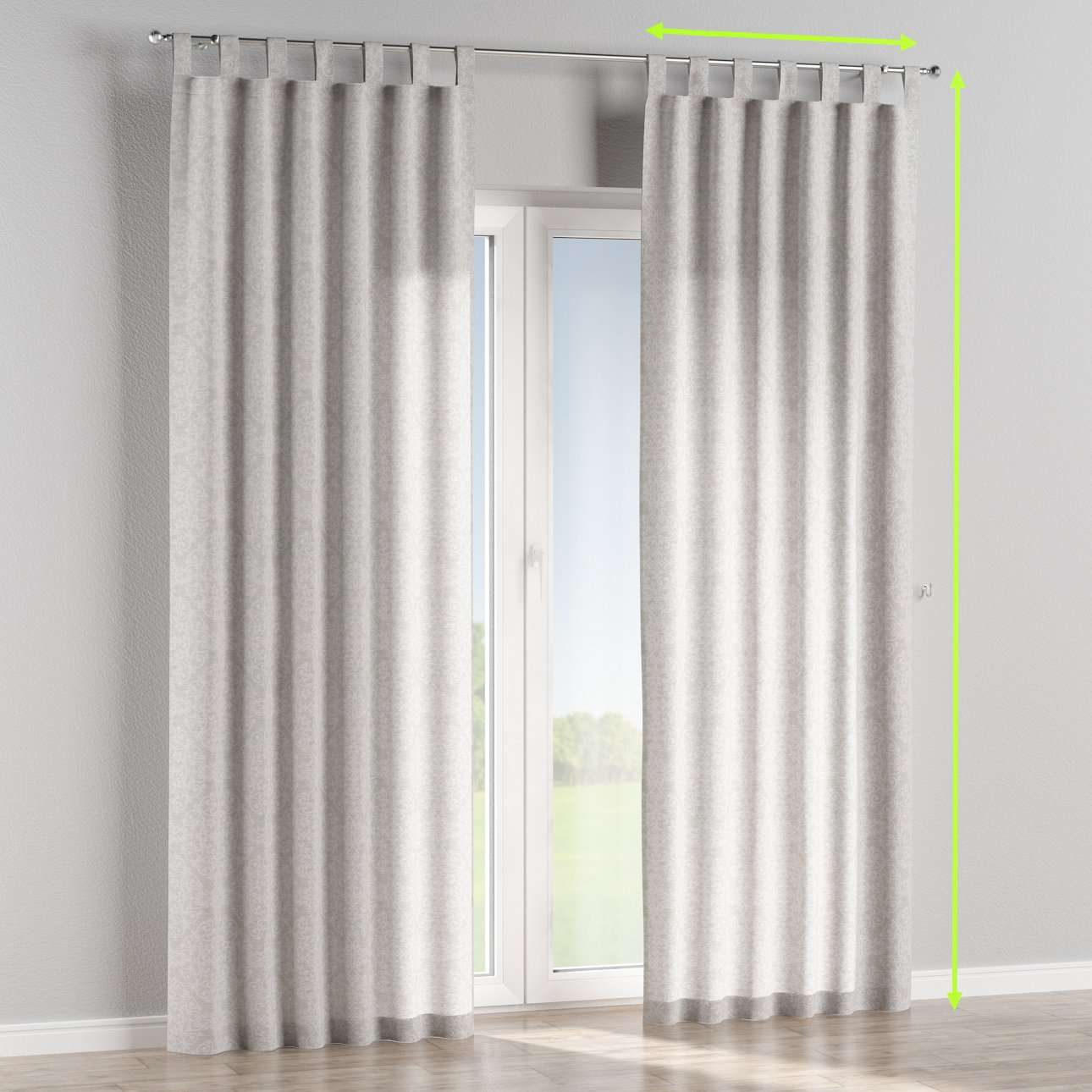 Tiebacks Pair Brand New Home, Furniture & Diy Curtains & Blinds Bright Oxford Check Lined Curtains