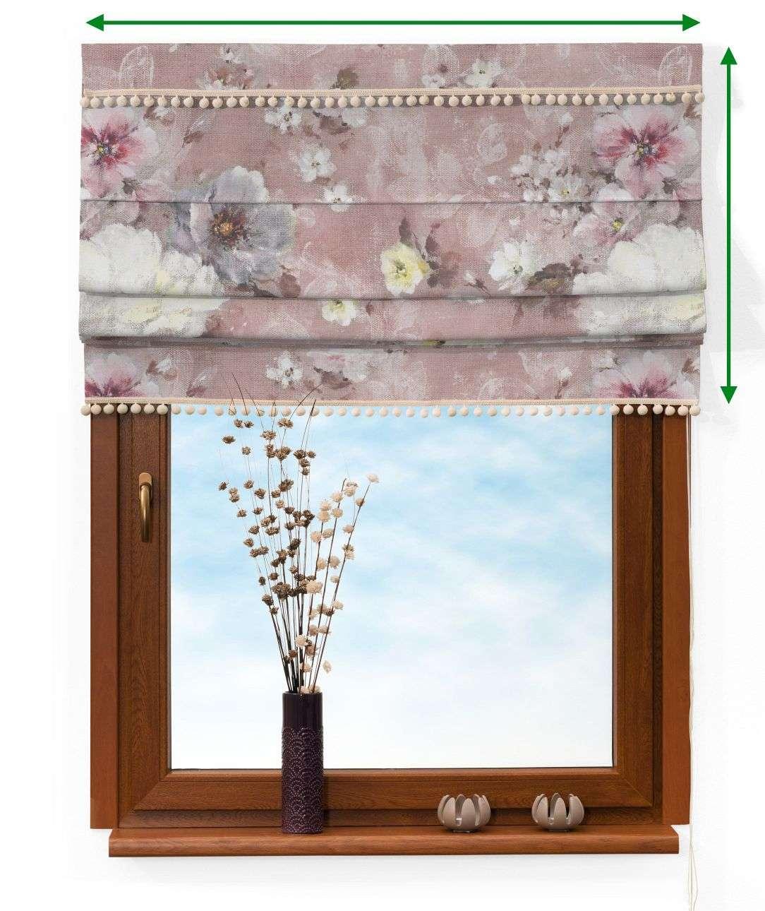 Rímska roleta Padva s brmbolcami V kolekcii Monet, tkanina: 137-83