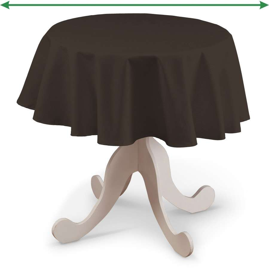 Rund bordsduk i kollektionen Panama Cotton, Tyg: 702-03