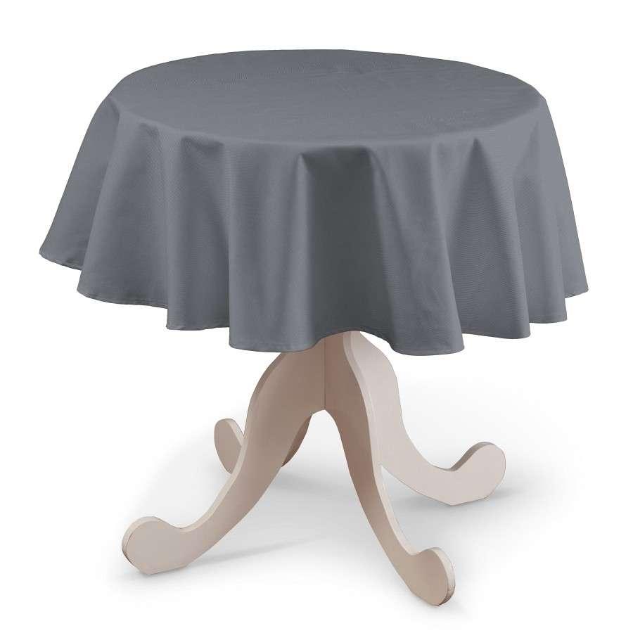 Runde borddug fra kollektionen Cotton Panama, Stof: 702-07