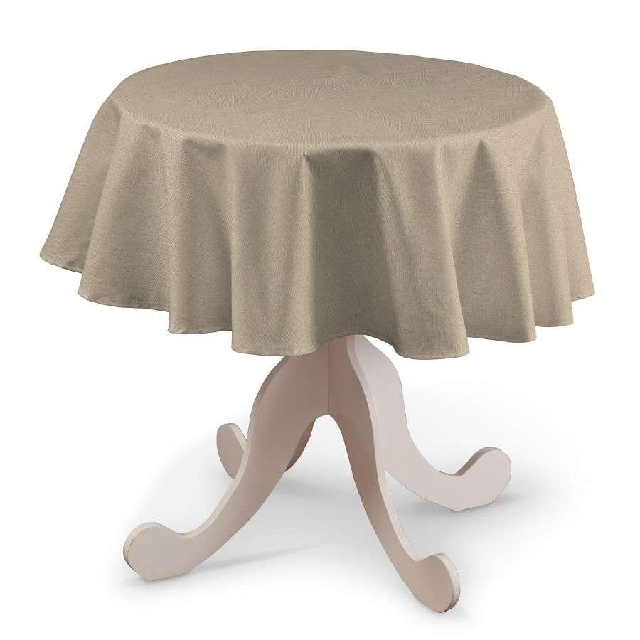 Rund bordsduk i kollektionen Edinburgh, Tyg: 115-78