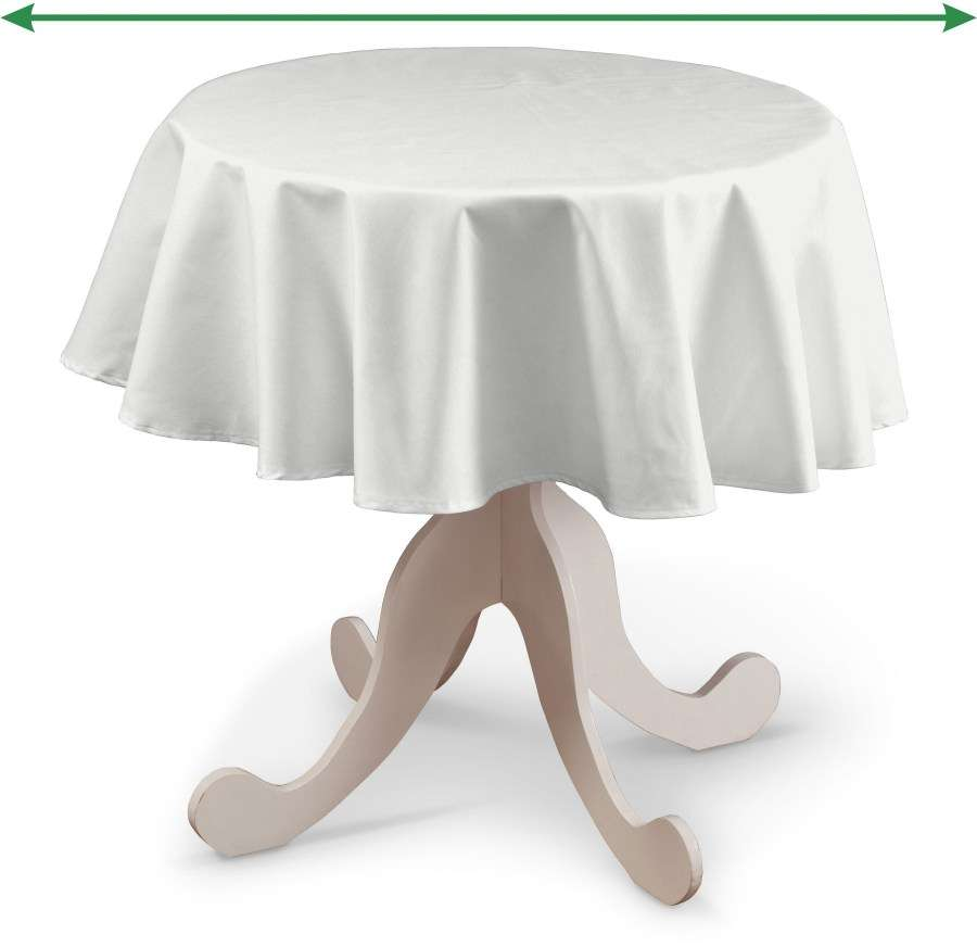 Round tablecloth in collection Loneta , fabric: 133-02