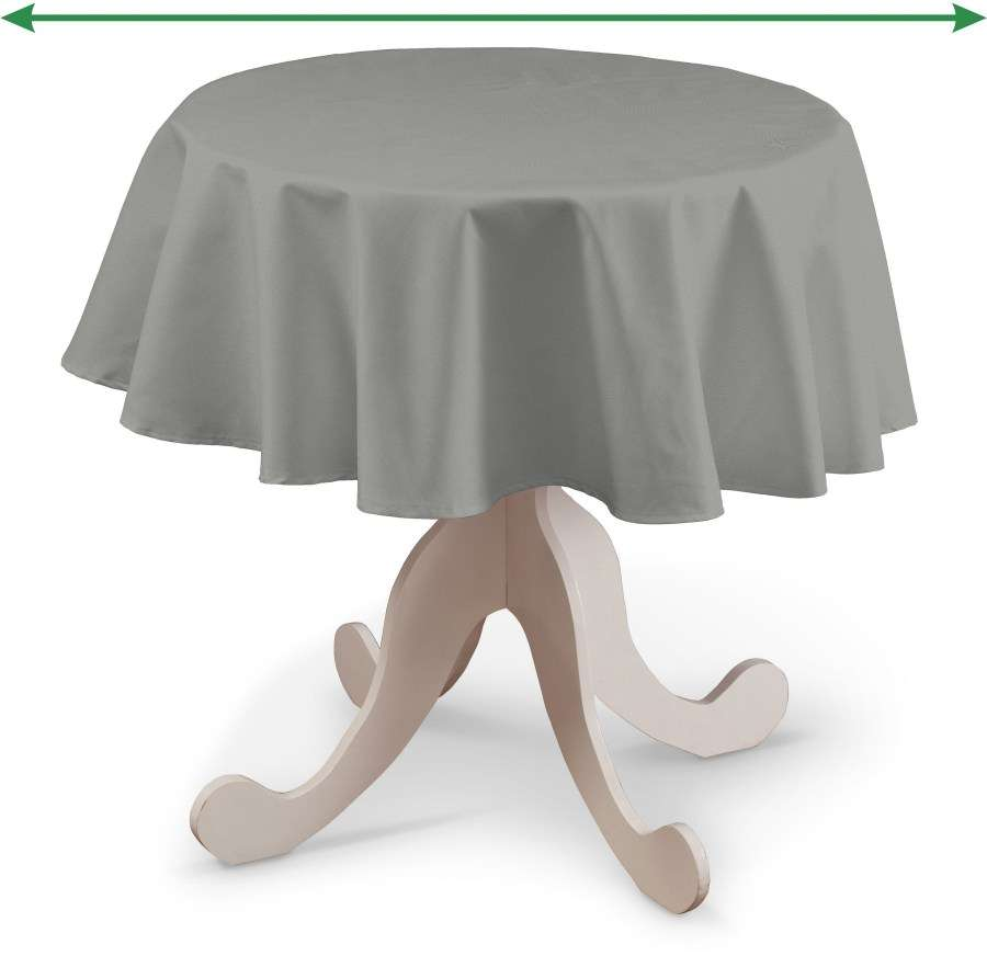 Round tablecloth in collection Loneta , fabric: 133-24