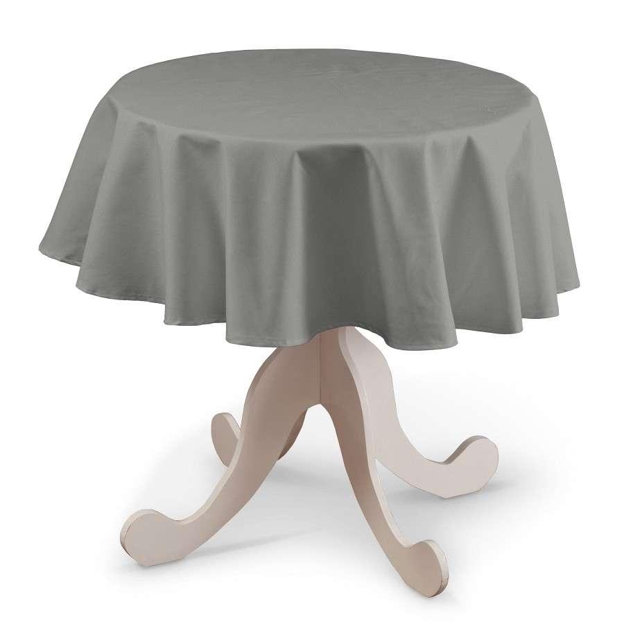 Rund bordsduk i kollektionen Loneta, Tyg: 133-24