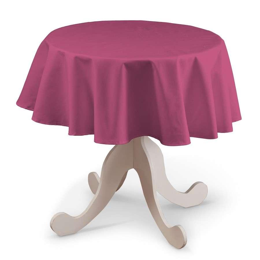 Runde Tischdecke von der Kollektion Loneta, Stoff: 133-60