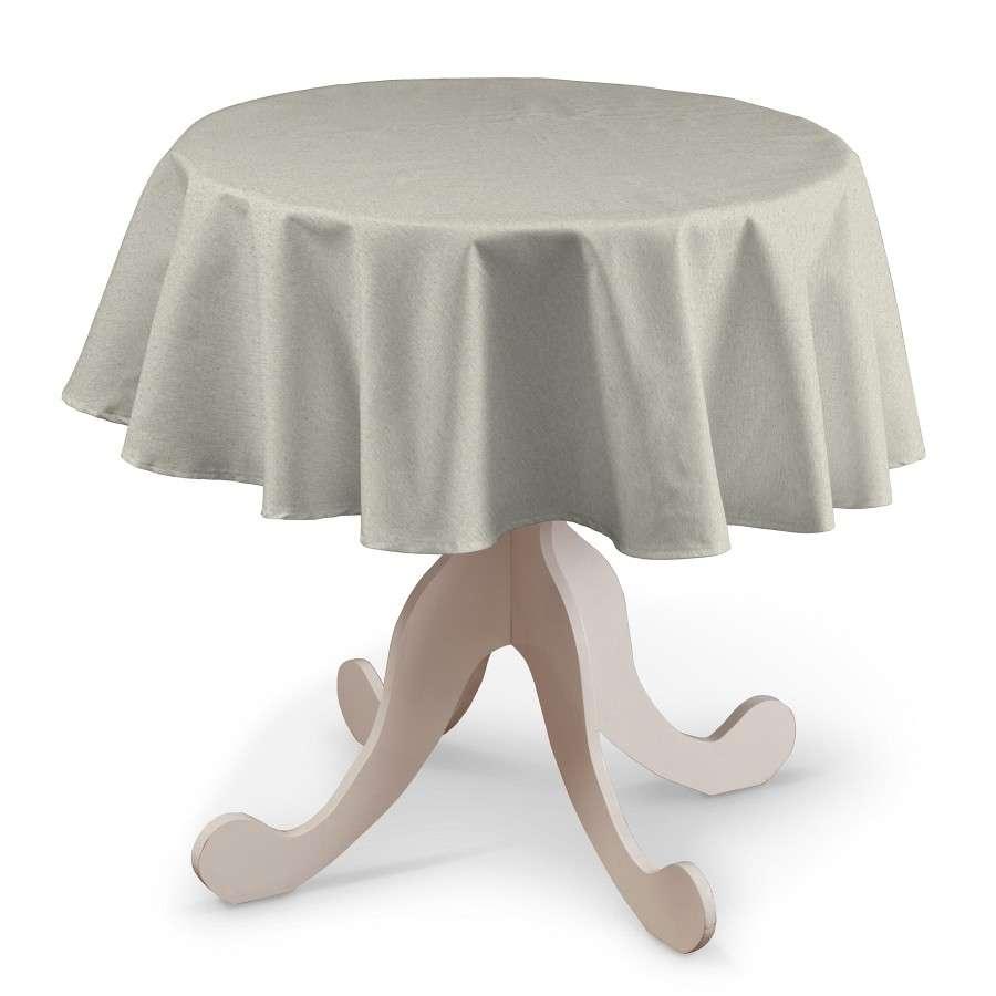 Rund bordsduk i kollektionen Loneta, Tyg: 133-65